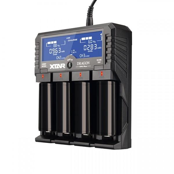 VP4Plus 4-Schacht-Ladegerät