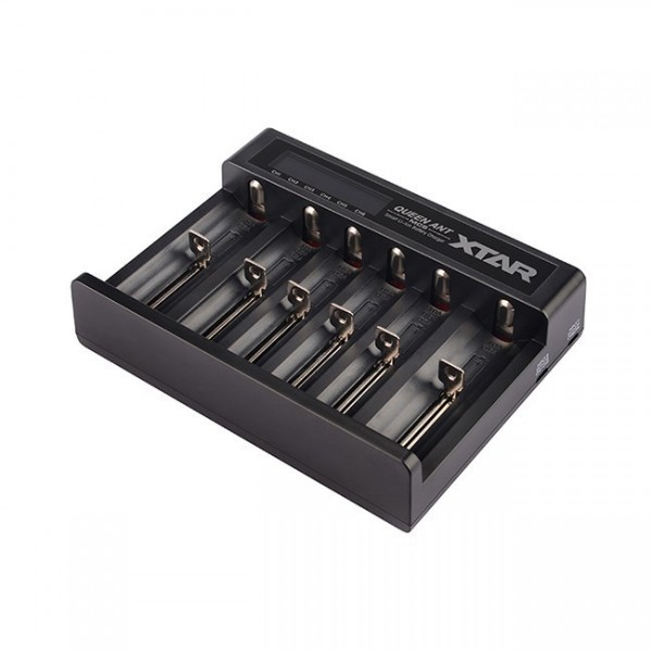 MC6 QUEEN ANT II 6-Schacht USB-Ladegerät