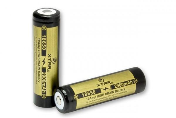 18650 Li-Ion Akku 2900 mAh 3,6 V hochstromfähig 10 A