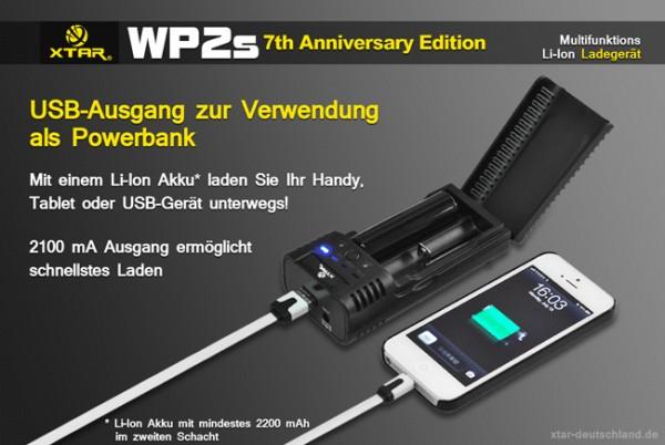 WP2s 2-Schacht Ladegerät