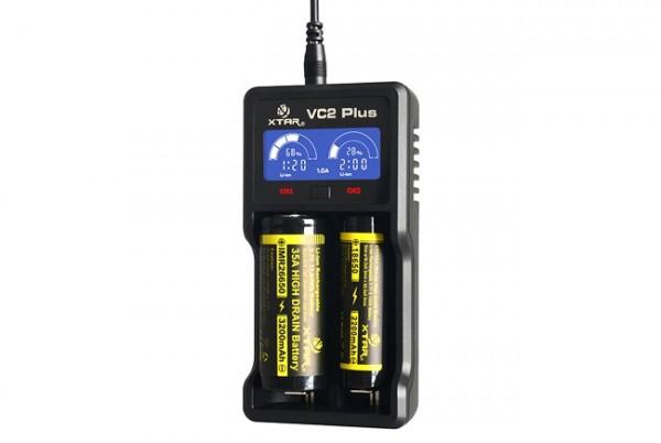 VC2Plus Master 2-Schacht USB-Ladegerät