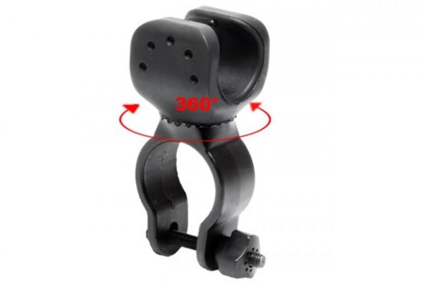Halterung für Taschenlampen - 360° drehbar
